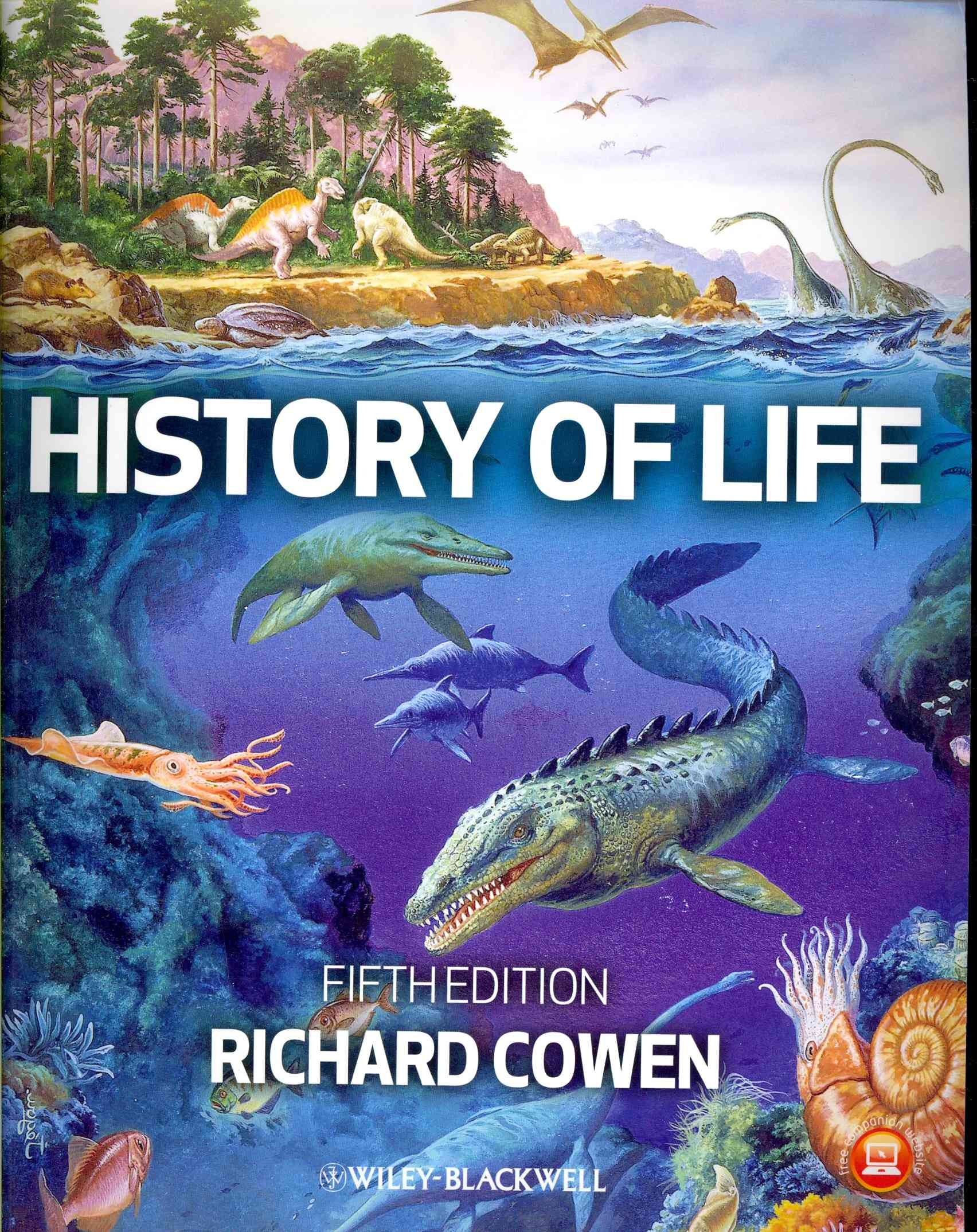 History of Life By Cowen, Richard